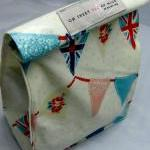 Oilcloth Lunch Bag - Buntin..