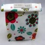 Oilcloth Lunch Bag - Folk F..