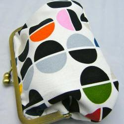 6&amp;quot; Fabby Purse - Semi Circles  